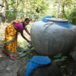 Lakhi Biswas and her story of happiness with Rainwater Harvesting Tank
